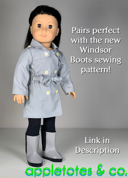 Berkshire Coat Sewing Pattern 18 Inch Dolls