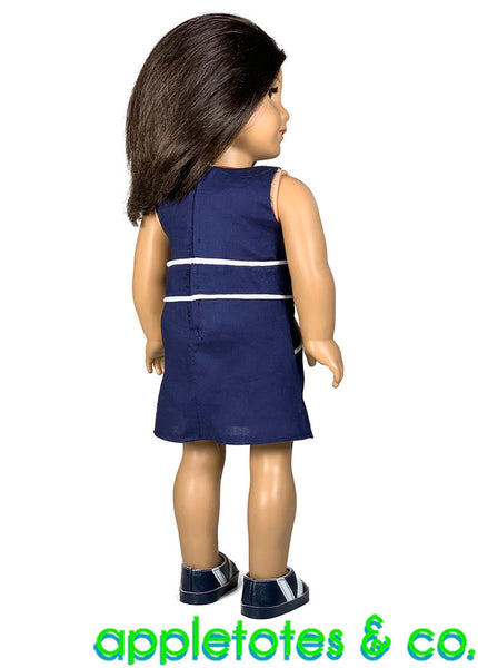 Cameron Dress Sewing Pattern for 18 Inch Dolls