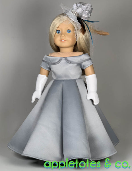 Carolina Gown 18 Inch Doll Sewing Pattern