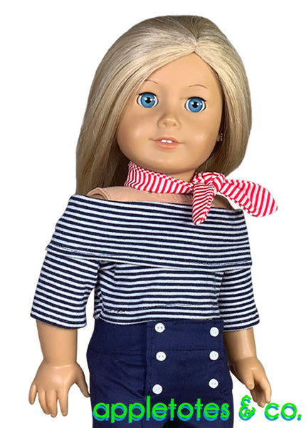 Cece Top Sewing Pattern for 18 Inch Dolls