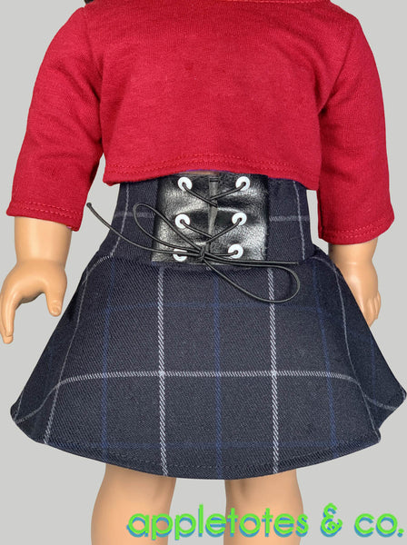 Fiona Skirt 18 Inch Doll Sewing Pattern