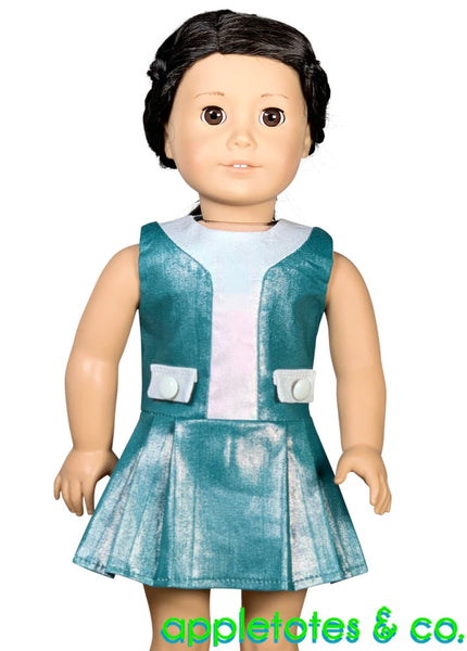 Gia Dress Sewing Pattern for 18 Inch Dolls