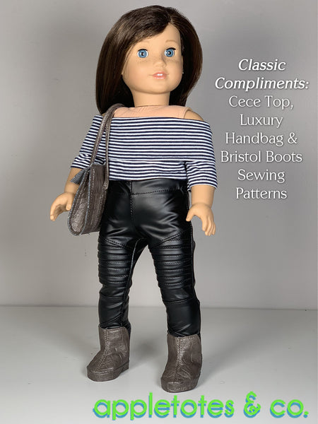 Harley Stretch Pants 18 Inch Doll Sewing Pattern