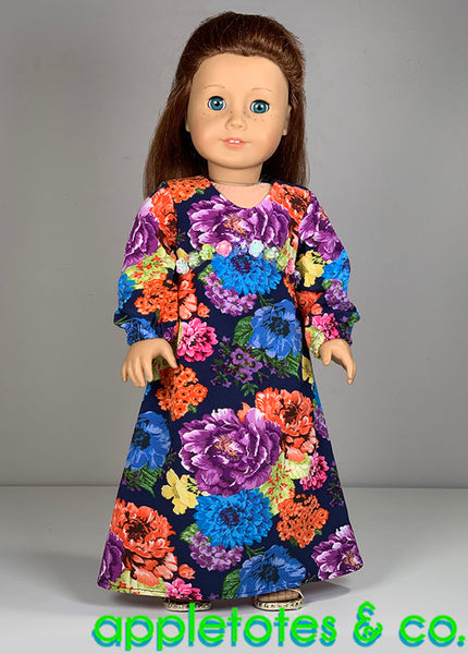 Josephine Dress 18 Inch Doll Sewing Pattern