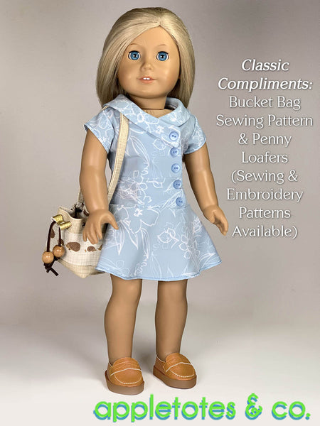 Lauren Dress 18 Inch Doll Sewing Pattern