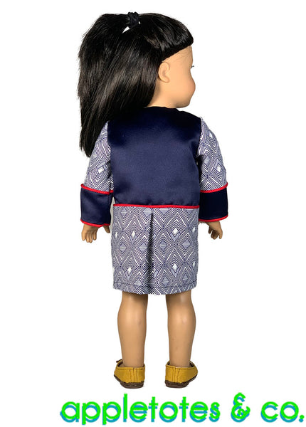 Milan Coat 18 Inch Doll Sewing Pattern