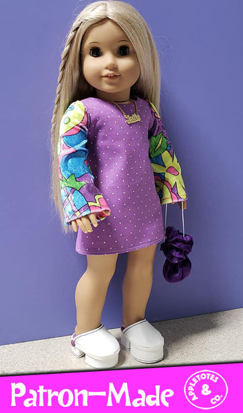 No-Sew Clogs Pattern for 18 Inch Dolls