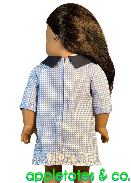 Palm Beach Tunic Sewing Pattern for 18 Inch Dolls