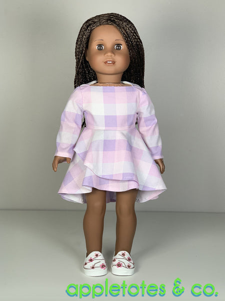 Sabrina Dress 18 Inch Doll Sewing Pattern