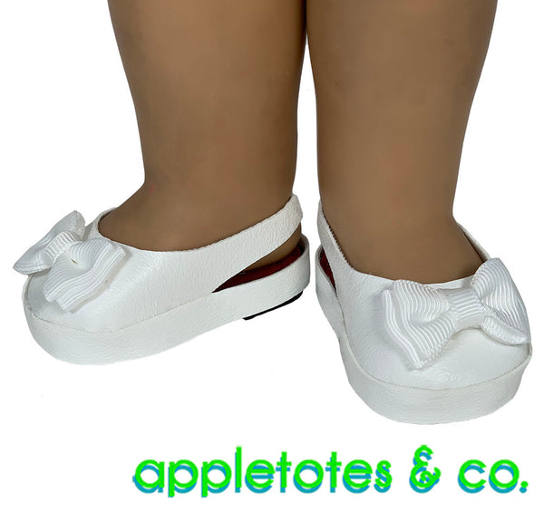 Slingback Shoes Sewing Pattern for 18 Inch Dolls