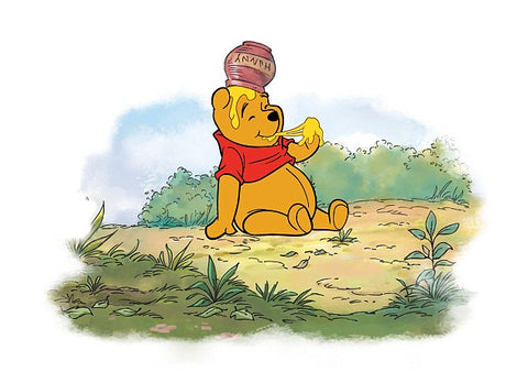 famous bear winnie the pooh