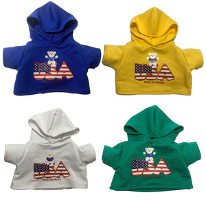 Usa teddy bear clothing