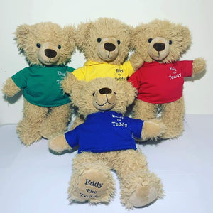 Eddy the Teddy Clothing (pack of 5)
