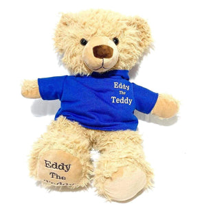 Blue Eddy the Teddy bear