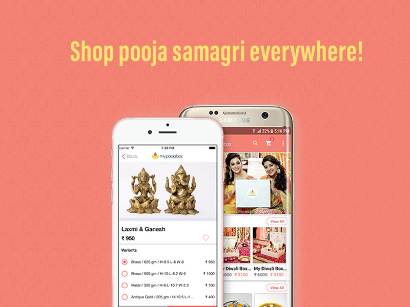 Ease your Online Puja Samagri Shopping with My Pooja Box App!