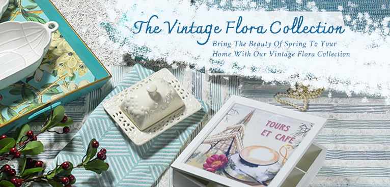 VINTAGE FLORA COLLECTION
