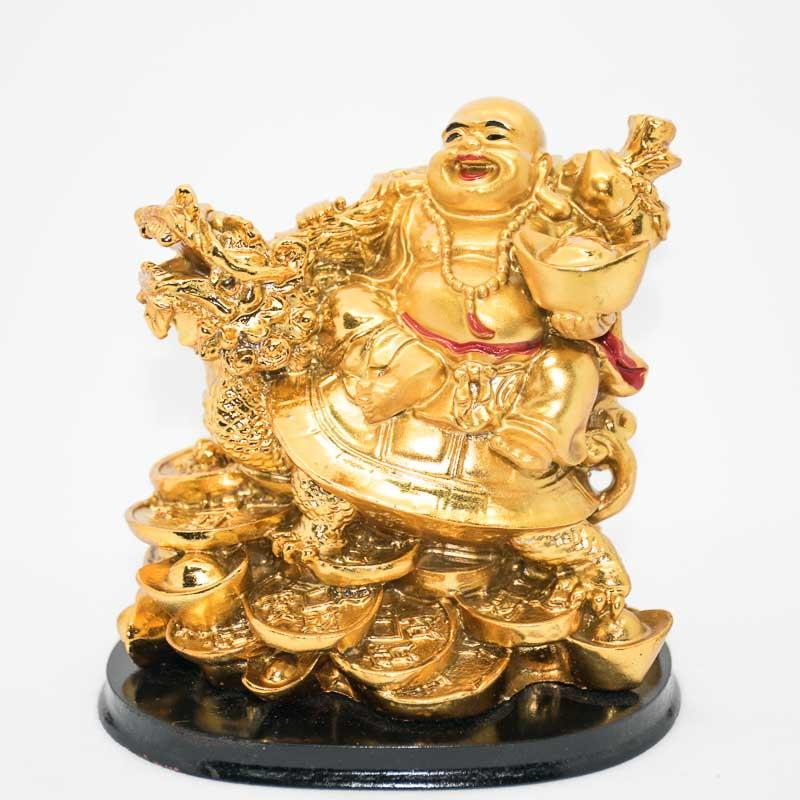 Laughing Buddha with Ingot