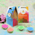 500 Gms My Colourful Herbal Holi Box Color