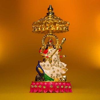 Goddess Saraswati Idol