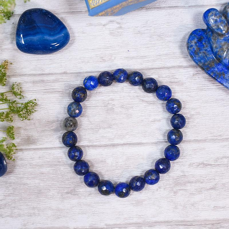 Lapis Lazuli Bracelet⎮Stone of Knowledge & Wisdom