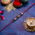 Exquisite Handcrafted Karwa Chauth Thali Set