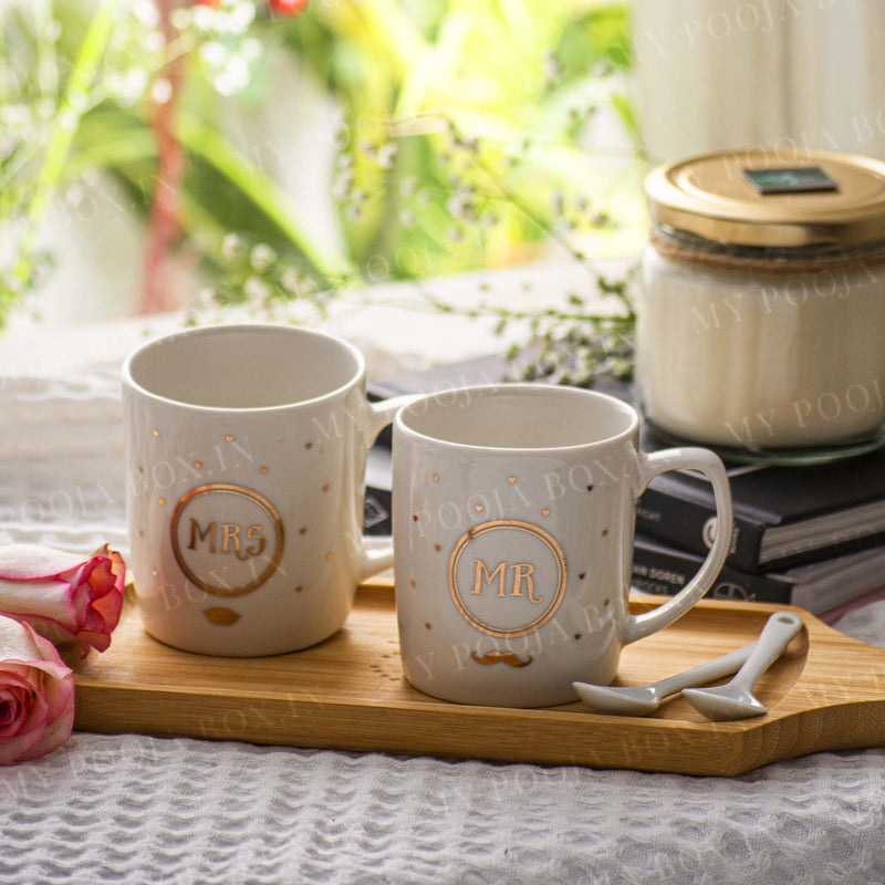 Alluring Mr. & Mrs. Mug Set
