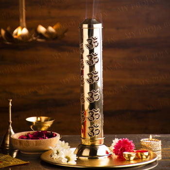 Stylish Om Incense Holder/Agarbatti Stand