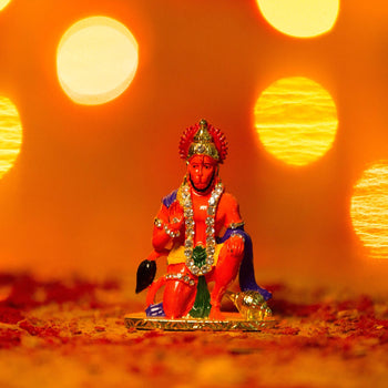 Auspicious Lord Hanuman Idol For Dashboard