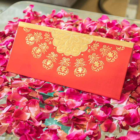 Floral Design Shagun Envelope (Pack of 5)