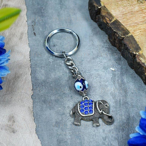 Beautiful Feng Shui Elephant Keychain