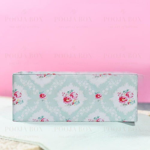 Floral Tin Napkin Holder Home Decor