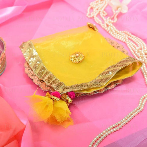 Sunkissed Yellow Thali Cover