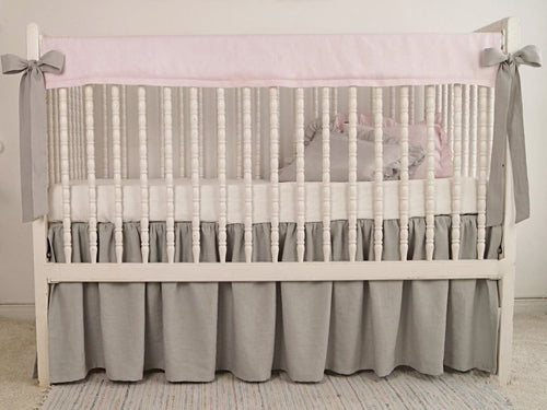 Crib Rail Cover - Girl - Moods The Linen Store