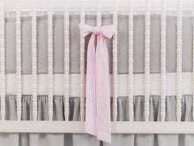 Linen Crib Bedding Set - Girl - Moods The Linen Store