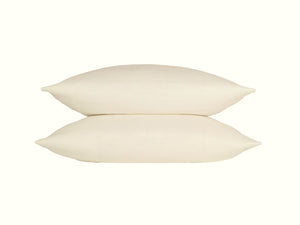 Ivory Linen Pillowcase - Moods The Linen Store