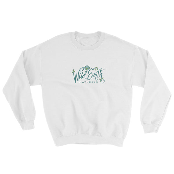 Unisex with Wild Earth Naturals Logo - Soft Sweatshirt