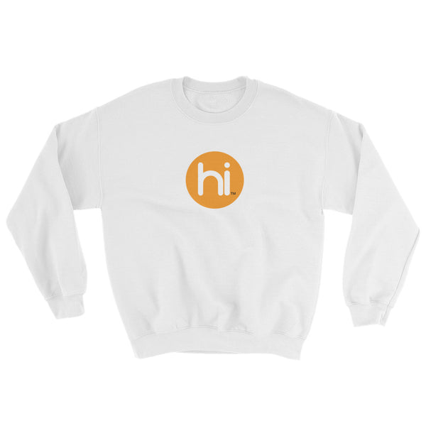 Unisex with hi Logo - Soft Sweatshirt