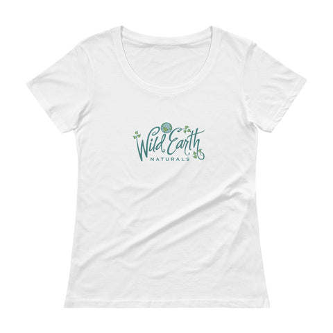 Ladies' - Women's Wild Earth Naturals Short Sleeve Scoopneck T-Shirt