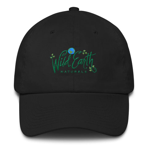 Hat Embroidered with Wild Earth Naturals Logo - Cotton Cap