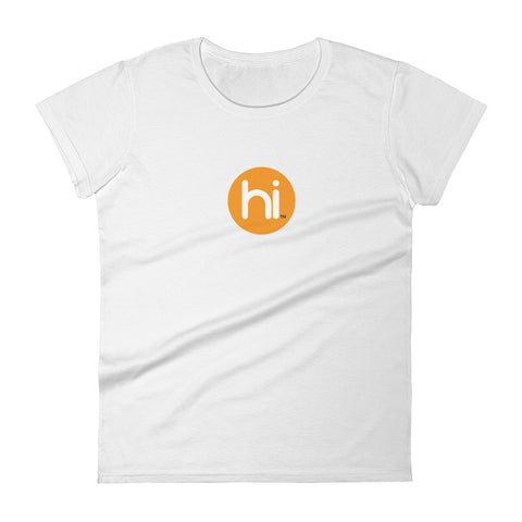 Women's hi Logo short sleeve t-shirt