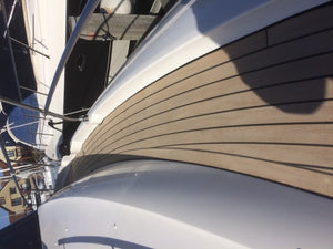 Jeanneau Sailboat Decking.Jeanneau 500  PVC Synthetic Teak Decking for Decks, Cockpit Seats and Floors
