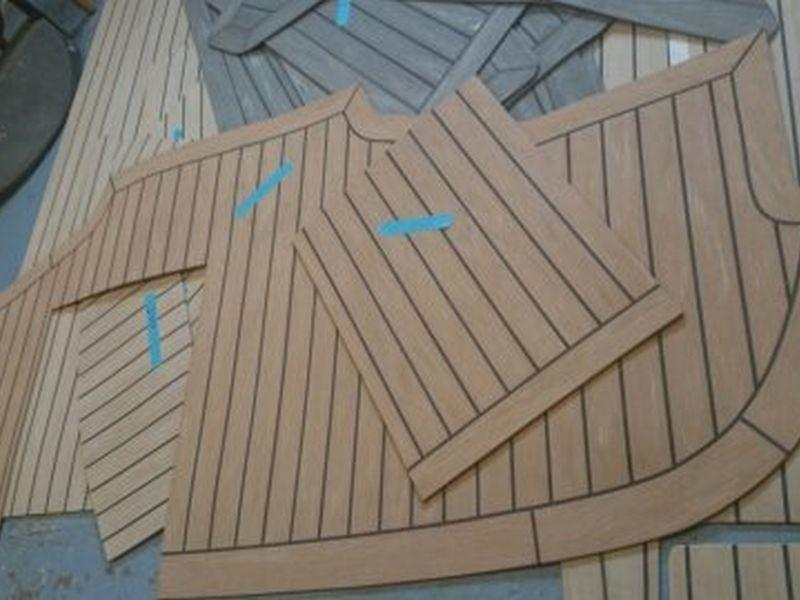 Rodman 1170. Rodman Powerboat Synthetic Teak Decking Panels