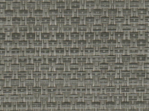Woven vinyl carpet - Seagrass (Colour 11: Gunmetal). 3 metre width - Priced per linear metre off the roll.