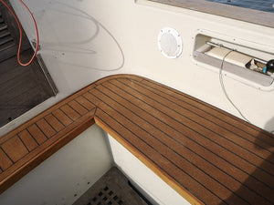 Vancouver Sailboat ECODeck Cockpit Seats
