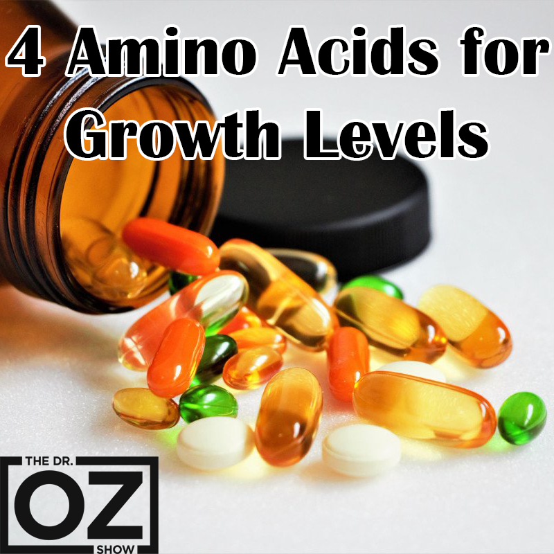 Dr  Oz Growth Hormones - 4 Amino Acids GOAL