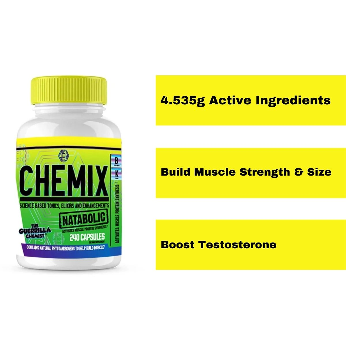 Chemix Natabolic an All New Muscle Builder