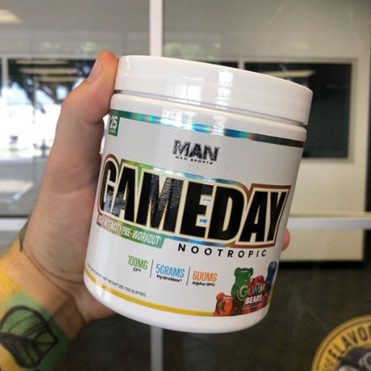MAN Sports Creates a Nootropic Infused Spin-Off of their GameDay Pre-Workout Formula