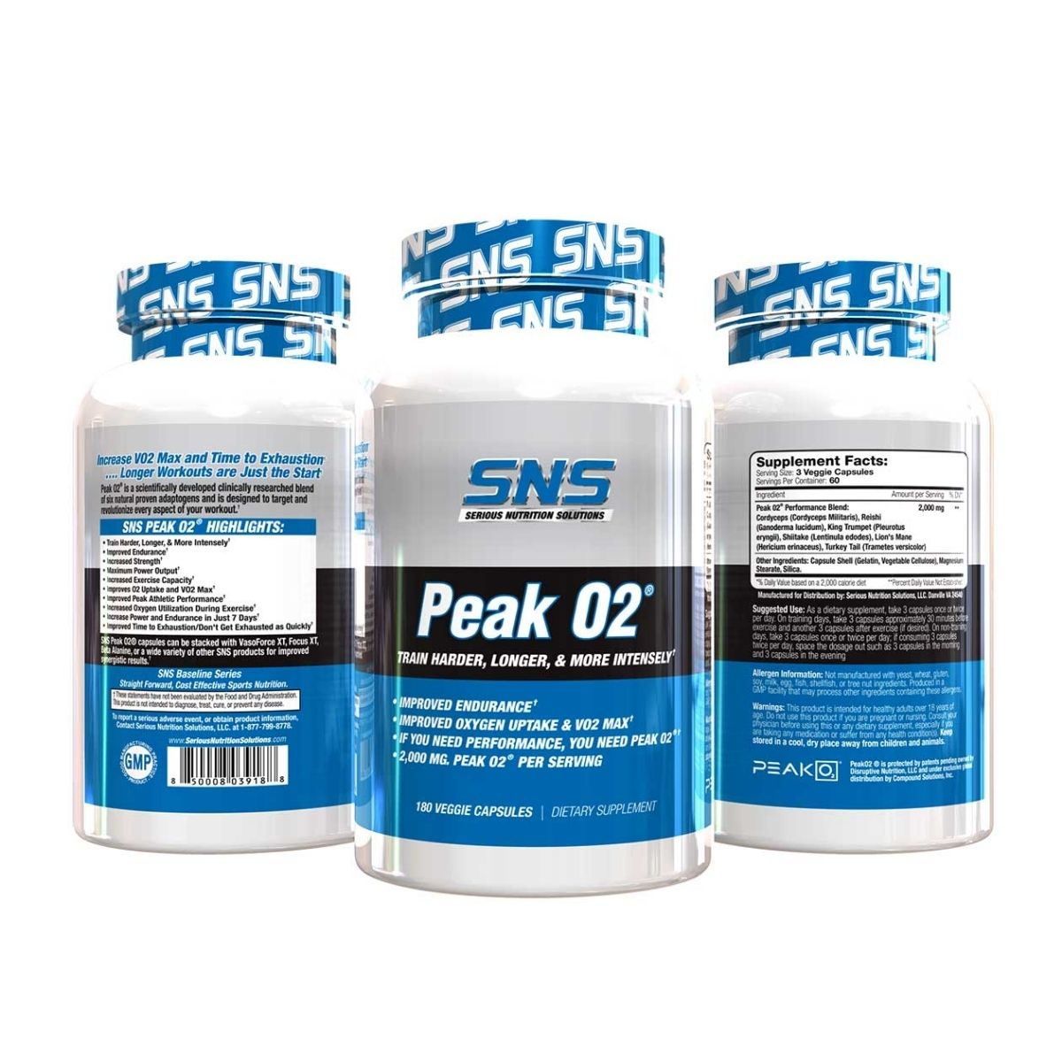 Serious Nutrition Solutions Introduces New Basic Peak02 Supplement