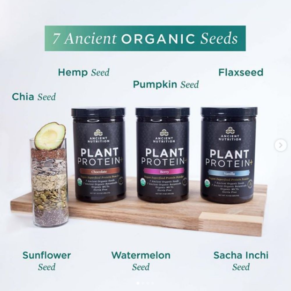 Ancient Nutrition Introduces Their First Ever Plant Protein