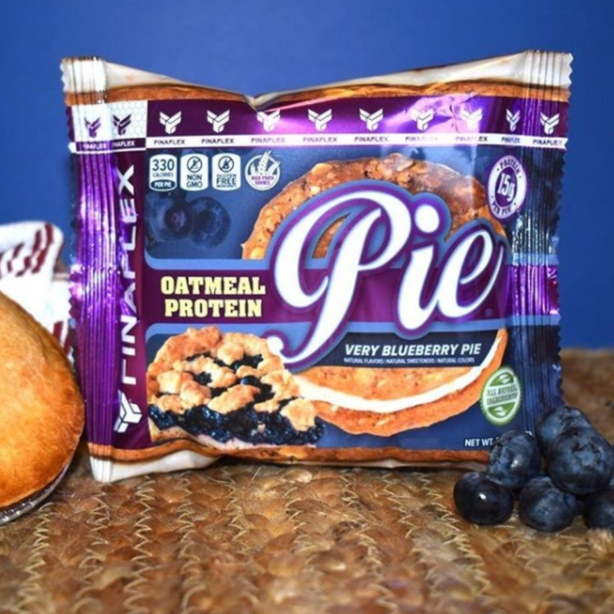 Finaflex Reveals a New Blueberry Flavored Oatmeal Protein Pie